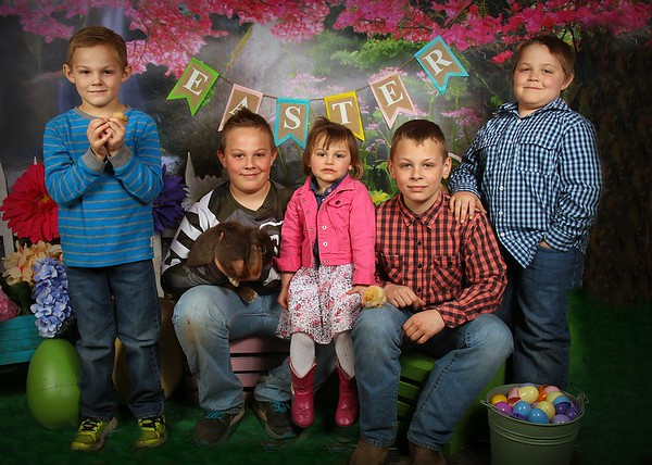 Anderson Family - Easter 2017