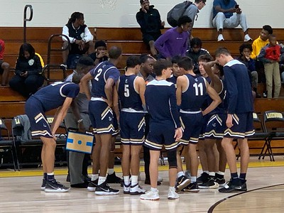 V Boys Basketball vs Gibbs HS