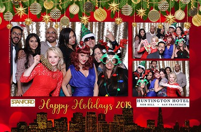 Stanford Court and Huntington Hotel Holiday Party