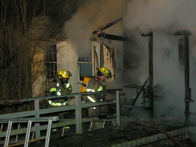 12-16-09 Walhonding Valley FD House Fire