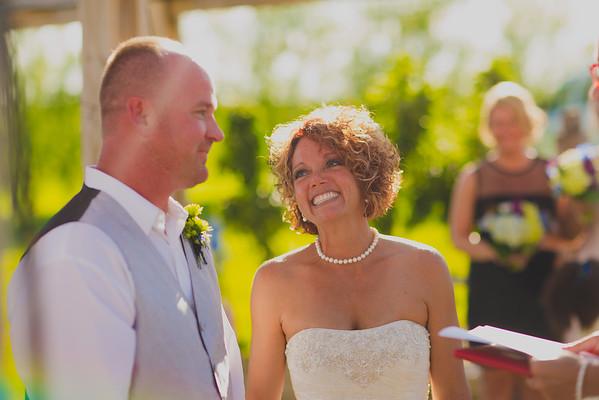 Meri + Doug's Wedding