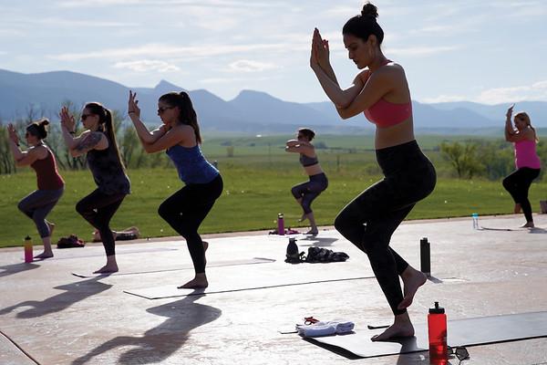Yoga at The Brinton Museum (05-19-2020)