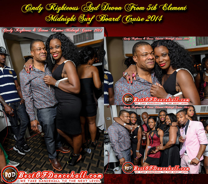 8-29-2014-BOAT RIDE-Cindy Righteous And Devon From 5th Element Midnight Surfboard Cruise 2014