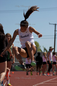 Foothill Double Dual Meet girls