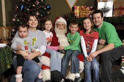 Santa Photos Fri Noon to 2:00 PM