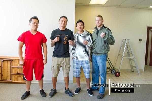 Muay Thai Kai Singthong Maritime Laboure Centre Vancouver Bc Canada (6_22_13)