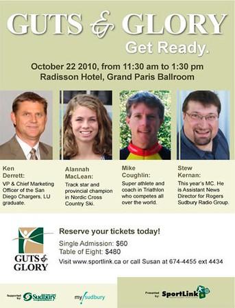 Guts & Glory Banquet