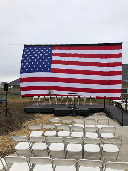Army SPC Kevin Trimble Home Dedication