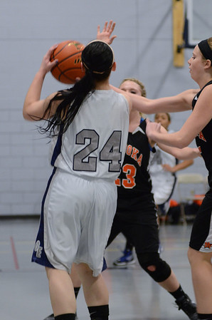 OE soph girls basketball Vs Minooka 2012