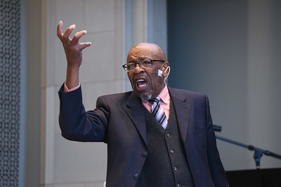 John Perkins speaks Poverty and Justice in Chapel
