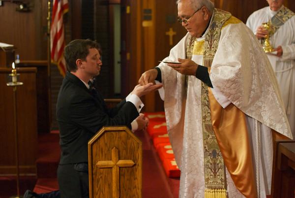 2012-12-Crews Parker Union Blessing