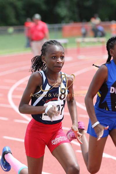 2017 AAU RegQual : Girls 100m Finals