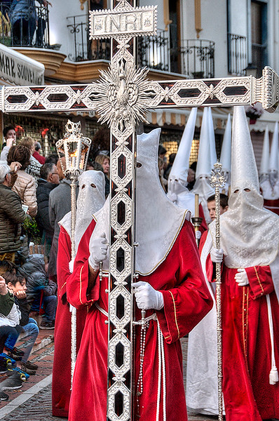 Semana Santa old town Marbella