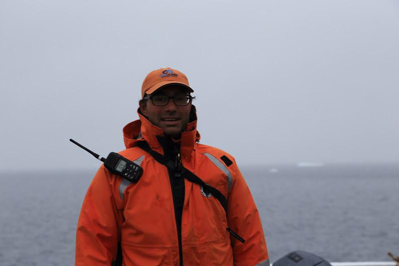 Antarctica - Jan 2013 - Sergey Vavilov Circle Trip, The One Ocean Expedition staff:  Aaron Nagler.