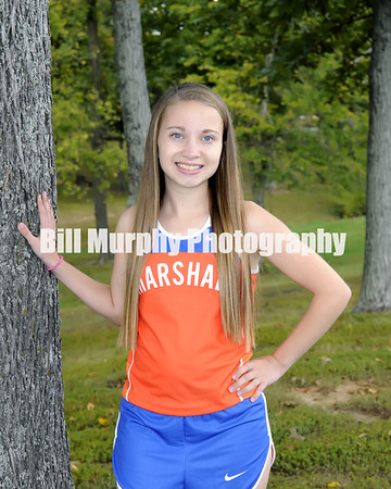 2013 Marshall County Girls Cross Country Team, October 17, 2013.