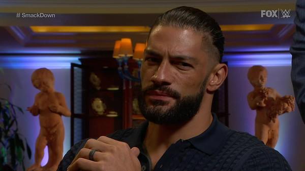 Roman Reigns - Screencaps / SD Oct 9,2020