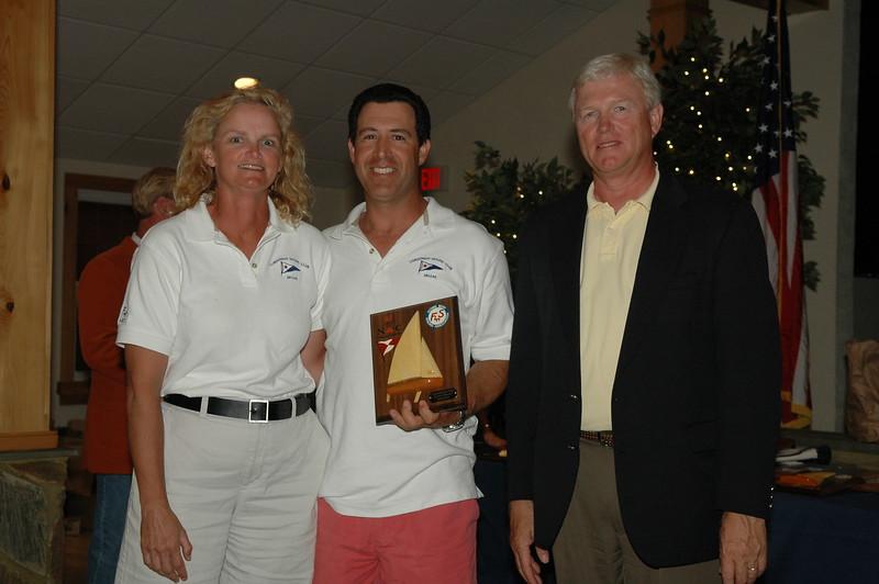 Award for furthest distance traveled 87/5804 Michael Mittman/Greta Mittman
