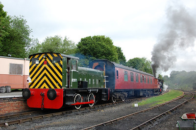 Telford Steam Railway May 2011 Gala