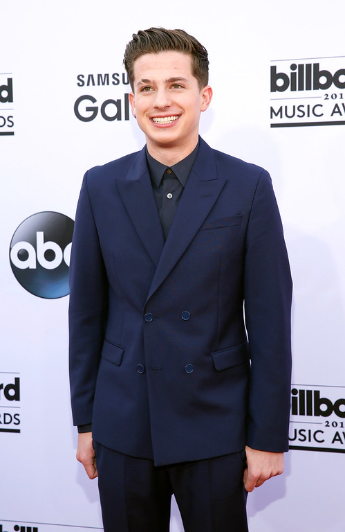 . Charlie Puth arrives at the Billboard Music Awards at the MGM Grand Garden Arena on Sunday, May 17, 2015, in Las Vegas. (Photo by Eric Jamison/Invision/AP)