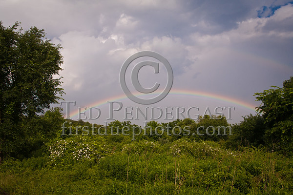 Rainbow After Thunderstorm - Topsfield MA