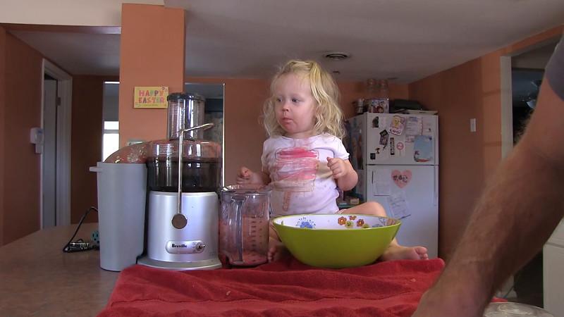 Watermelon Juice with Alana Part 2