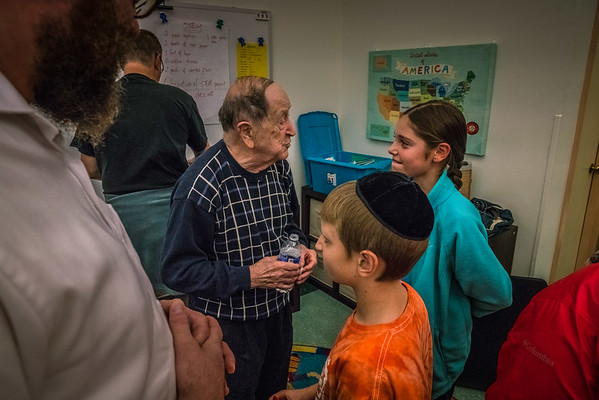 Hebrew School - Holocaust Survivor Rubin Sztajer 11-5-17