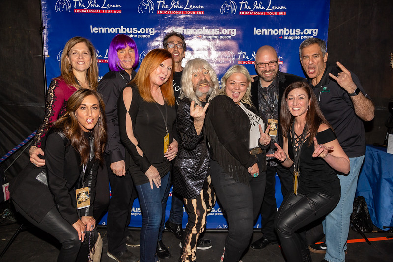 2019_01_26, Anaheim, Brian Rothschild, CA, Derek Smalls, Elle King, Imagine Party, Janet Tufo, Names, NAMM, Neutrik, Pete Milbery, Sarah Tallman