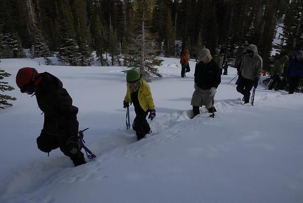 Snow Travel School April 25-26, 2009