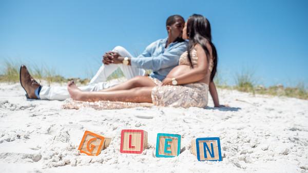 Glen, Lisa and Baby Glen