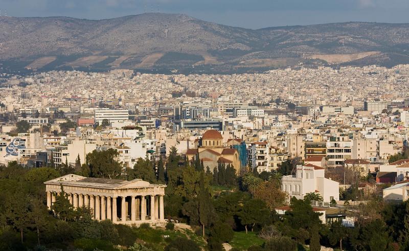 Hephaisteion temple and Ancient Agora