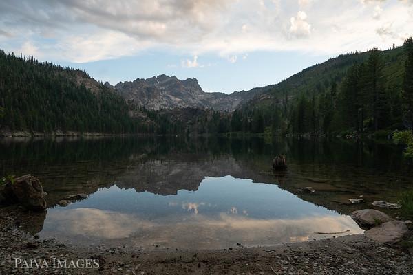 Sunset Sardine and Gold Lakes