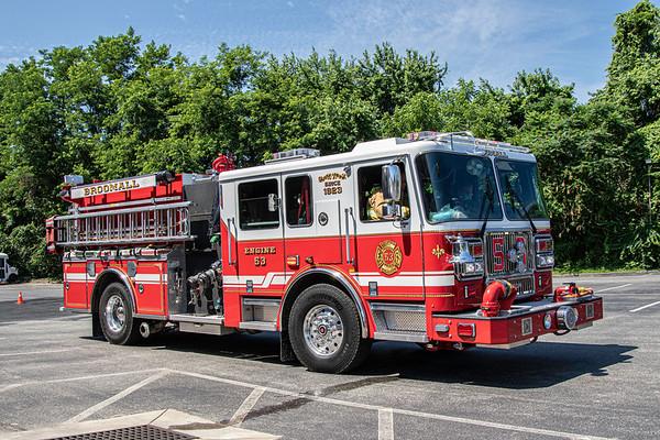 Broomall Fire Truck 6 25 2020