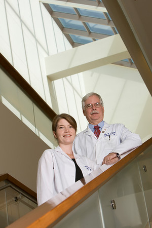 Drs. Robert Carlson and Melinda Telli
