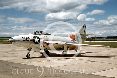 US Navy Grumman F9 Cougar Military Airplane Pictures