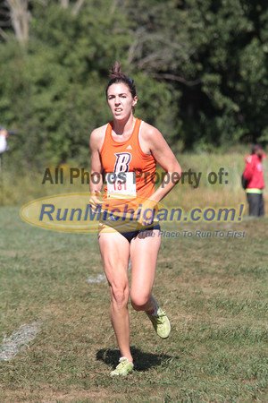 Womens College 5K Finish - 2012 Running Fit–Detroit Titan XC Invite