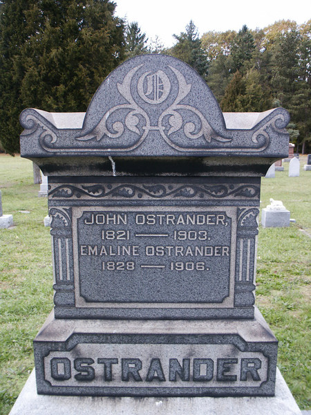 John and Emaline Ostrander