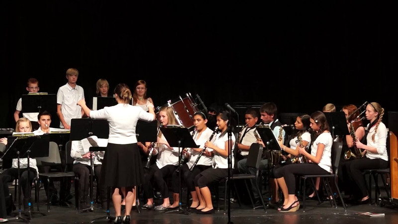 Abby Spring Band Concert 2014