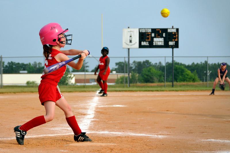 5/23/11 - Angels vs. Lady Warriors Softball