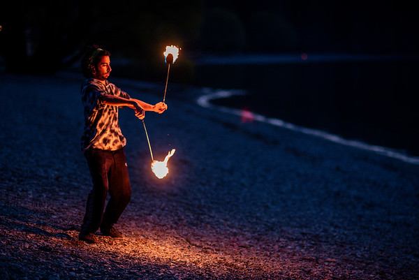 Wanaka fire and flow tribe