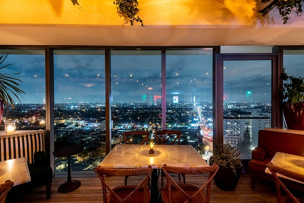 West Hollywood Rooftop Bar