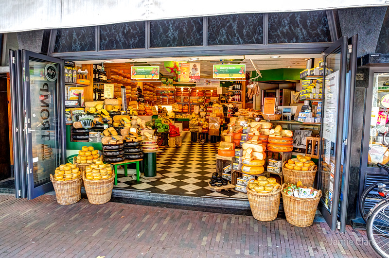 The mother of all cheese shops!  Haarlem.
