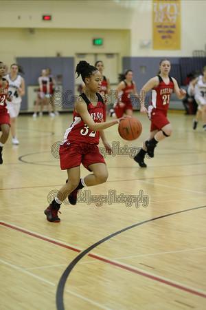 Varsity Girls-Jan 27, 2009 vs Hutch