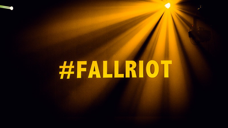 10.15.15 Fall Riot, West Campus