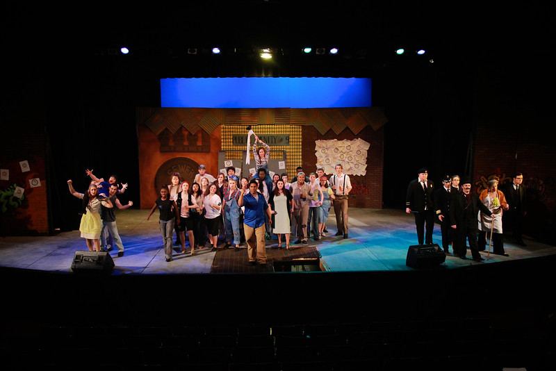 Urinetown the Musical; February 2013.