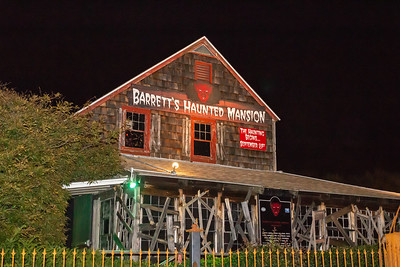Barretts Haunted Mansion 2018