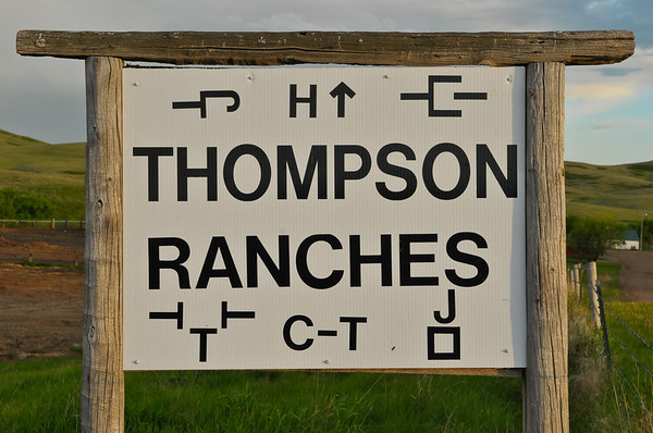 Thompson Ranches Branding 2011