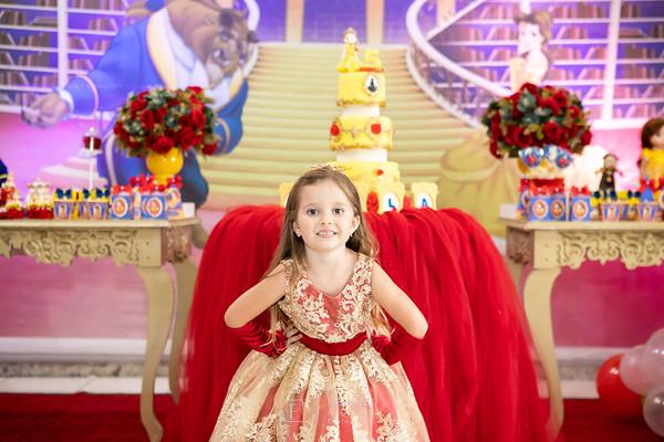 Aniversário 5 anos Isabella - Isabella e a Fera