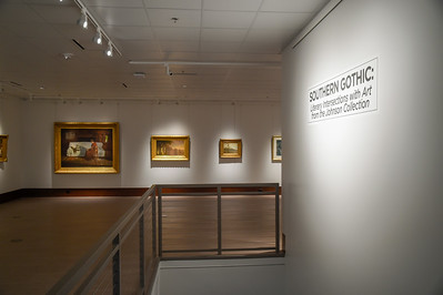Art Southern Gothic Exhibit