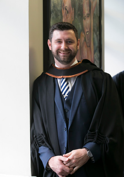 01/11/2018. Waterford Institute of Technology (WIT) Conferring Ceremonies 2018. Pictured is Anthony O'Keefe. Picture: Patrick Browne
