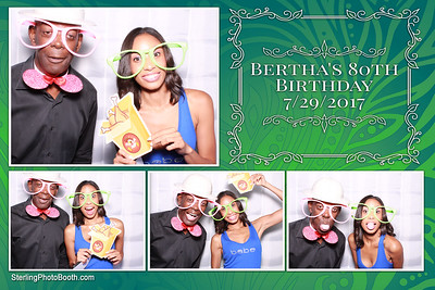 Bertha's 80th Birthday